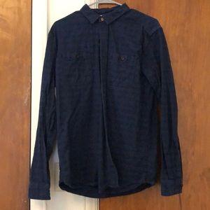 Men's button-down shirt.